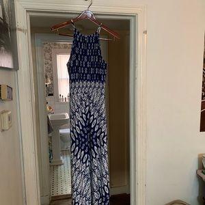 London Times Sun Dress Maxi Like New Size 14 Fab